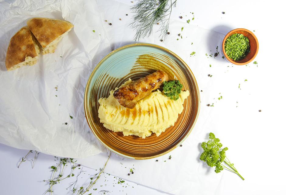 Glazirani batak na krompir pireu