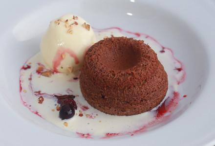 Hot chocolate cake